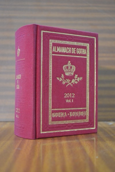 ALMANACH DE GOTHA. Annual Genealogical Reference. Volume I (Parts I & II) 2012.